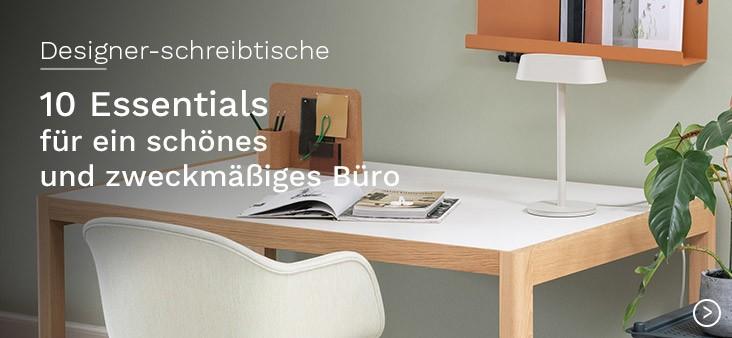 Designer-Schreibtische: 10 Essentials für ein schönes und zweckmäßiges Büro