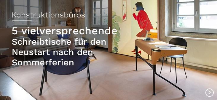 Konstruktionsbüros: 5 vielversprechende Schreibtische für den Neustart nach den Sommerferien