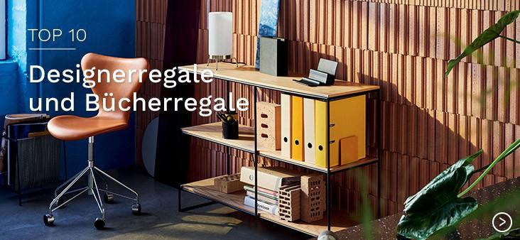 Designerregale und Bücherregale